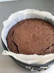 The cooked brownie