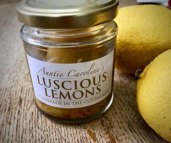 Preserved lemons - Auntie Caroline style