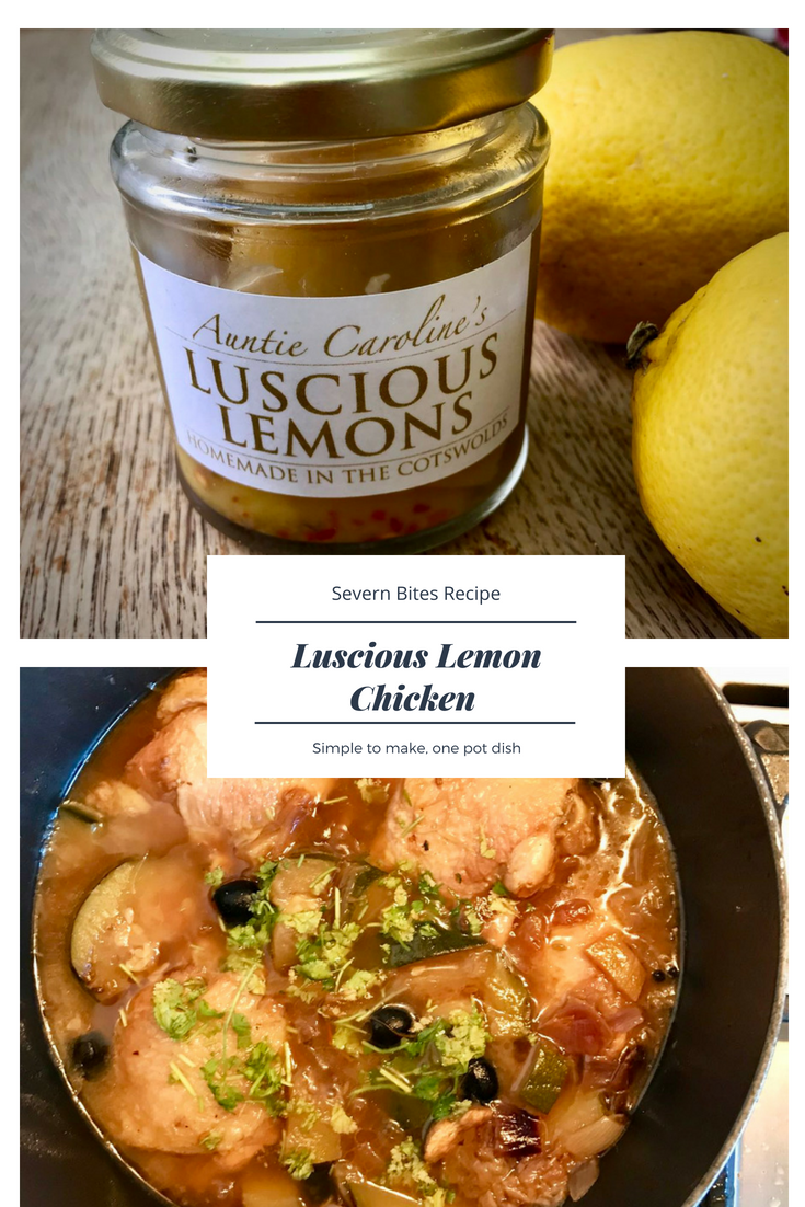 An easy one pot dish: Luscious Lemon Chicken