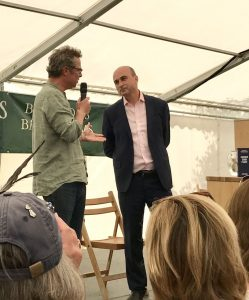 Phil Limbery with Hugh Fearnley Whittingstall
