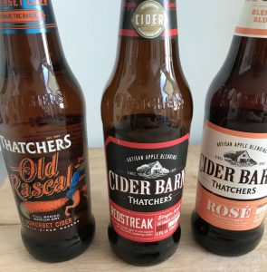 Are you and Old Rascal or more of a Redstreak or Rose drinker?