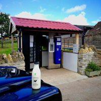 Tytherington Farm, near Frome has a milk vending machine