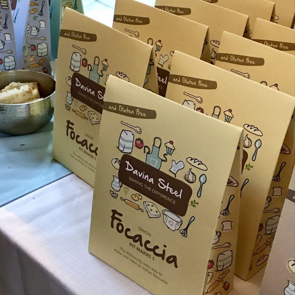 Gluten free focaccia bread kits