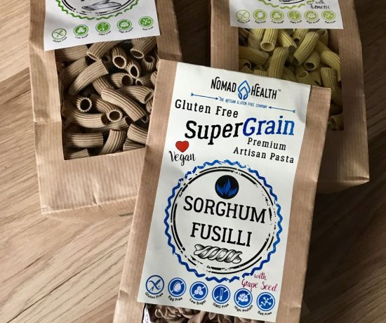 Three pastas from the Supergrain range