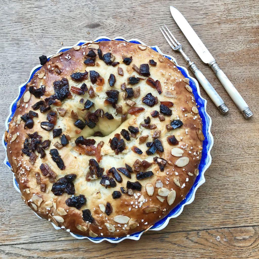 Brioche des Rois Provencale - Provencale King Cake