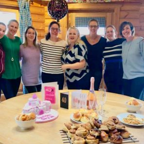A 40th Birthday Baking Party