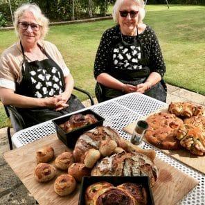 Breadmaking in the Garden