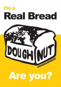 I'm a real bread doughnut
