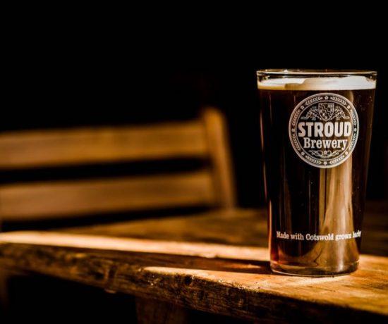 Organic beer at Stroud Brewery