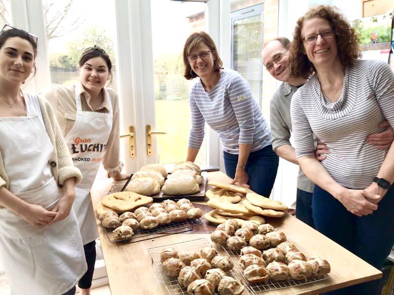 Breadmaking class