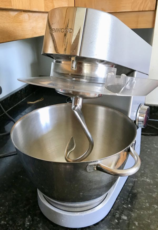 Breadbaking essentials: Kenwood stand mixer