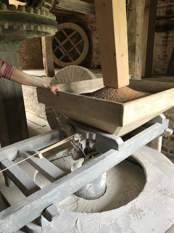 Milling Flour at Charlecote Mill
