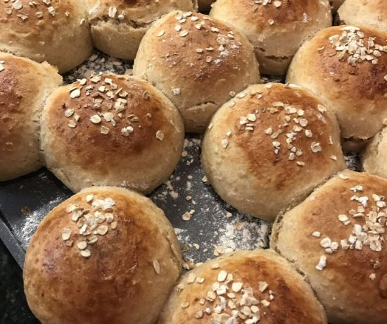 Lena's Porridge Bread Buns
