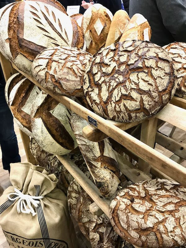 Moulin Bourgeois Bread at Europain