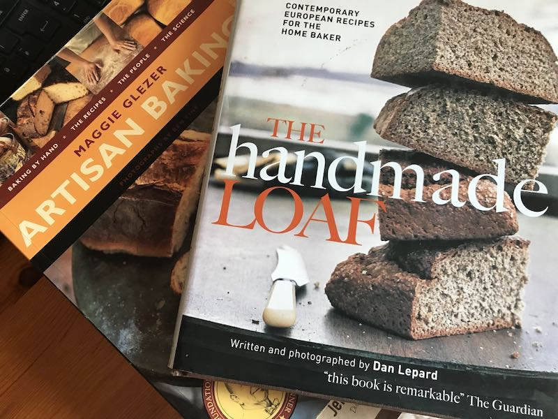 The Handmade Loaf and Artisan Baking cookery books