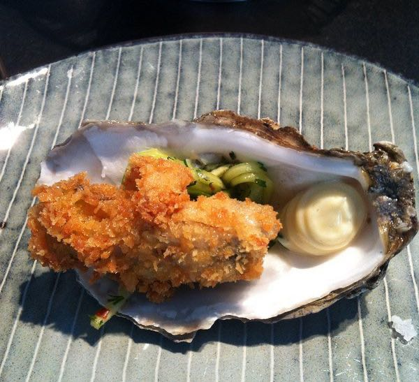 Oyster at Ondine