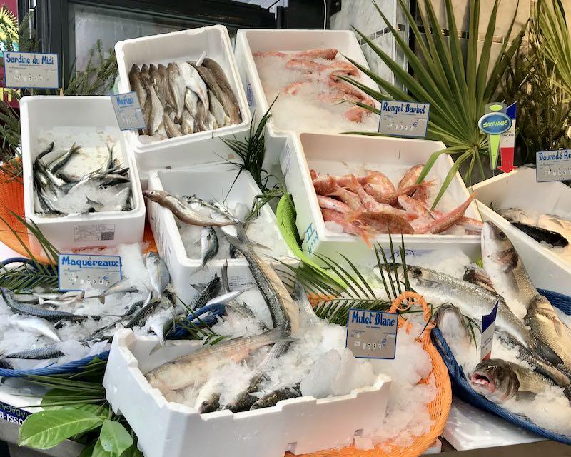 Parisien fish counter