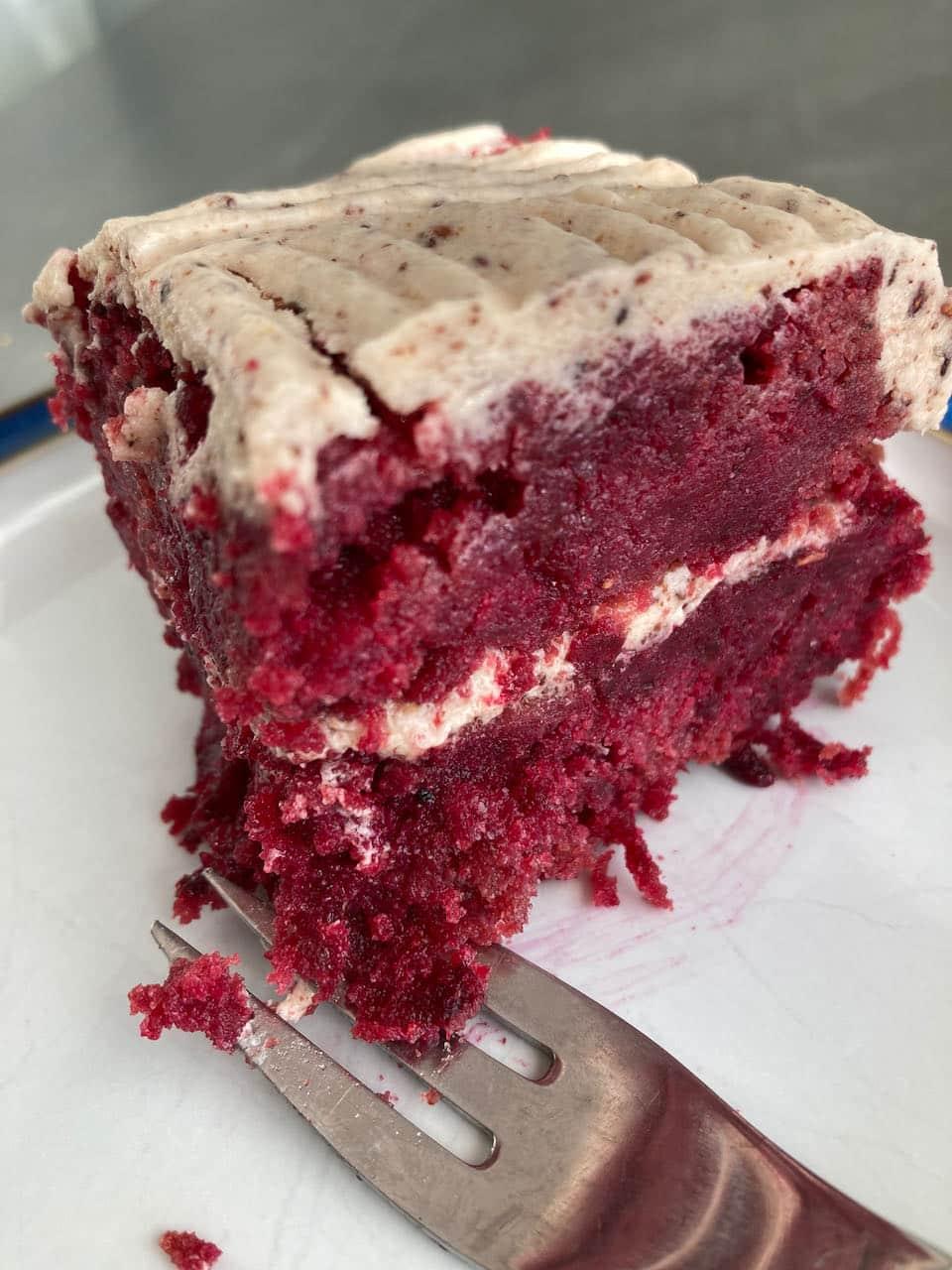 Raspberry Beetroot Cake