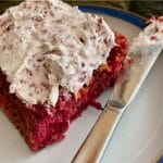 Beetroot and Raspberry cake